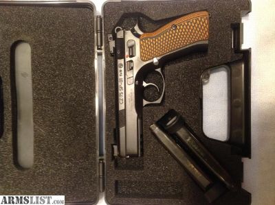 For Sale: CZ 75 SP-01 9mm