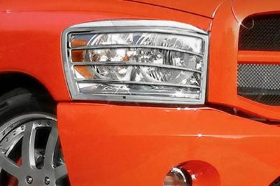 Sell SES Trims TI-HL-101 Dodge Ram Headlight Bezels Covers Chrome Ring Trim 3M ABS motorcycle in Bowie, Maryland, US, for US $77.00