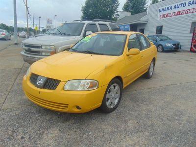 2006 Nissan Sentra 1.8 (Yellow)