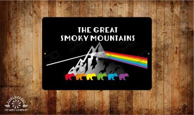 Smoky mountains new metal signs, Aluminum, Wholesale available, free shipping