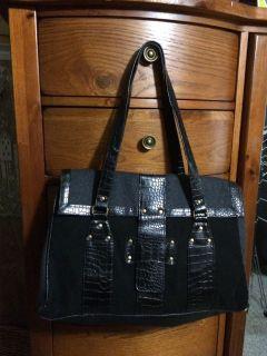 Large Black Handbag New No