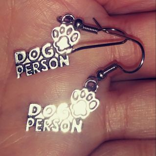 Dog Person Earrings