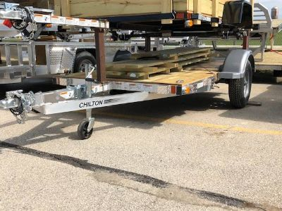 2019 Chilton 5X8 with ramp and wood sides Trailer Francis Creek, WI