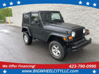 2006 Jeep Wrangler X (Black)
