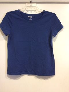 Eddie Bauer Blue Colored T-Shirt, Size Large