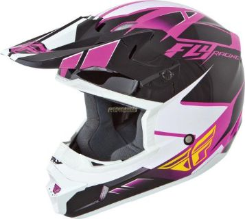 Sell FLY KINETIC IMPULSE HELMET PINK/BLACK/WHITE motorcycle in Sauk Centre, Minnesota, United States, for US $98.95