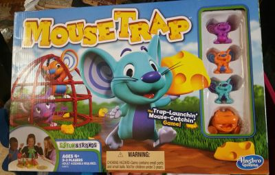 New Mouse trap game
