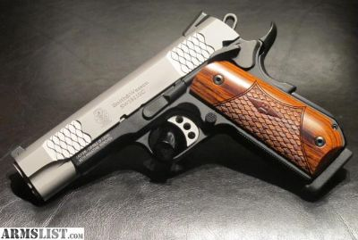 For Sale: Smith & Wesson 1911SC Scandium