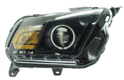 Buy 2010-2012 Ford Mustang Passenger Side Headlight Tinted motorcycle in Croswell, Michigan, US, for US $130.00