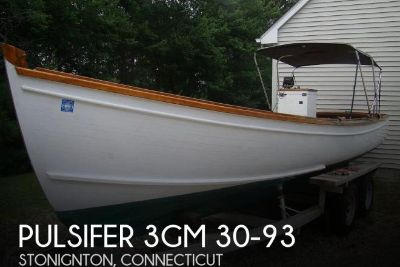 1997 Pulsifer Hampton Downeast Lobster Boat