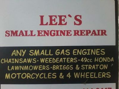 lee's small engine repair