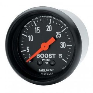 Sell AutoMeter Gauge, Boost, Mechanical, 2-1/16, Z-Series 0-35psi - 2616 motorcycle in Ogden, Utah, United States, for US $61.49