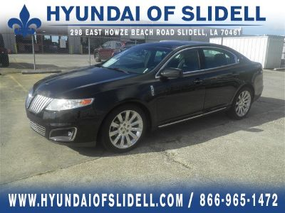 2009 Lincoln MKS Base (Tuxedo Black Clearcoat Metallic)