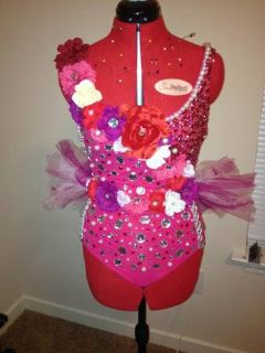 Pink and Red Custom Made Costume