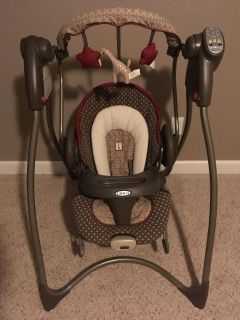 Graco swing and bouncer combo