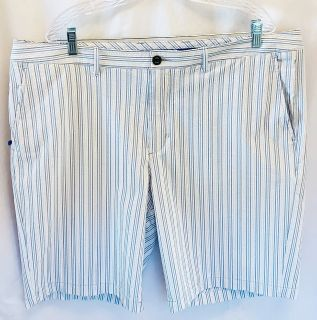 TOMMY BAHAMA Men s Sz. 40/42 Pastel Striped Golf Shorts EUC