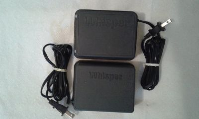 2-Whisper Aquarium Air Pumps