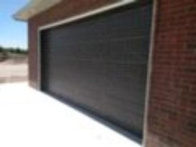 Dark brown, Cortana style garage door