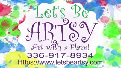 Grand Opening! Let's Be Artsy!
