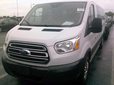 "2016 Ford Transit Wagon T-350 148"" Low Roof XLT Swing- (Oxford White)"