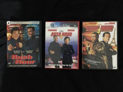 Rush Hour Trilogy DVD