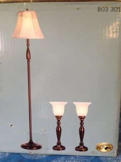 New set of 3 lamps