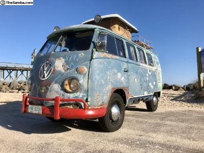 1965 VW Bus Camper. Woodstock