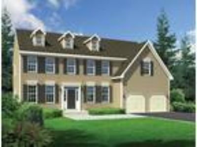 The Jefferson-Front Entry by Hallmark Homes Group: Plan to be Built