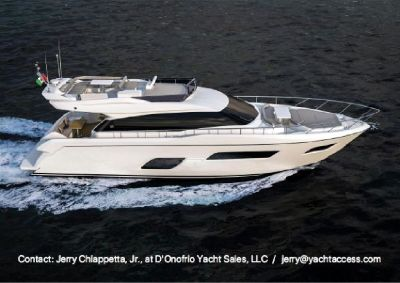 2016, 55' FERRETTI YACHTS 550 For Sale