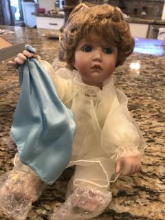 First Issue Porcelain Doll, Heavenly Inspirations, Ashton-Drake Galleries