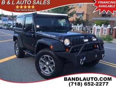 2013 Jeep Wrangler Rubicon (Black)
