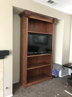 Tv stand/ bookcase/ entertainment center