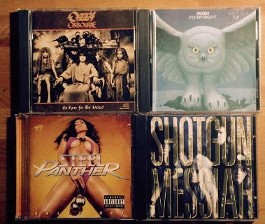 300 QUALITY HEAVY METAL CDs, hard rock cds for sale or will trade for record albums