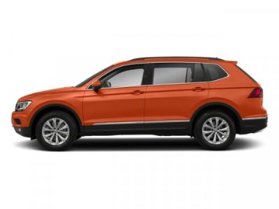 2018 Volkswagen Tiguan SE (Habanero Orange Metallic)