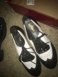 So dance tap dance shoes brand new