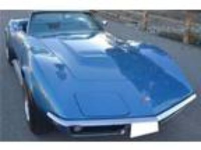 1969 Chevrolet Corvette Convertible LeMans Blue