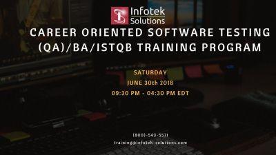 Learn Industry Required   Software Testing, QA/BA, ISTQB Training Program