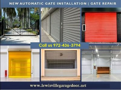 24/7 Residential Automatic Gate Repair and Installation ($25.95) Lewisville, 75056 TX