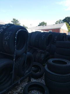 120+ used tires all must go not selling individual