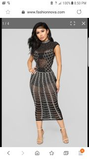 New with tags! Beautiful detailed dress