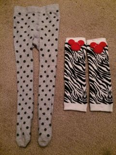 Cute tights & leg warmers for 1-2 yr old girl!