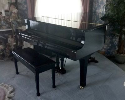 Yamaha baby grand piano C-3 with player mechanism