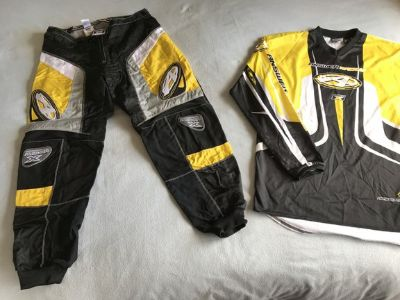 Answer Racing Team X Mens Motorcross Pants and Jersey