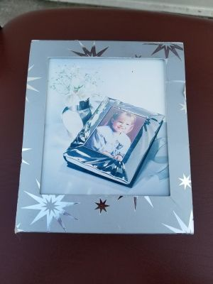 NEW- Silver Plated Photo Album