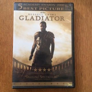 DVD - Gladiator (russell crowe)