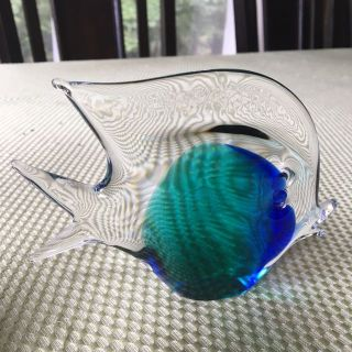 Designer Glass Fish, V. Nason & C., Murano, Italy, Excellent condition
