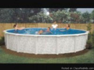 brand new round above ground pool