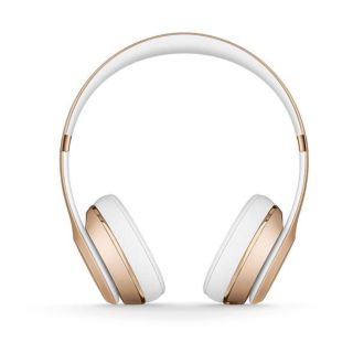 Beats Solo Wireless Bluetooth On-Ear Headphones with Mic - Gold