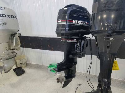 1993 Mercury Marine 40 Fishing Outboard Motors Kaukauna, WI