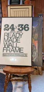"""Two New Poster Frames. ( 24"""" x 36"""" )"""